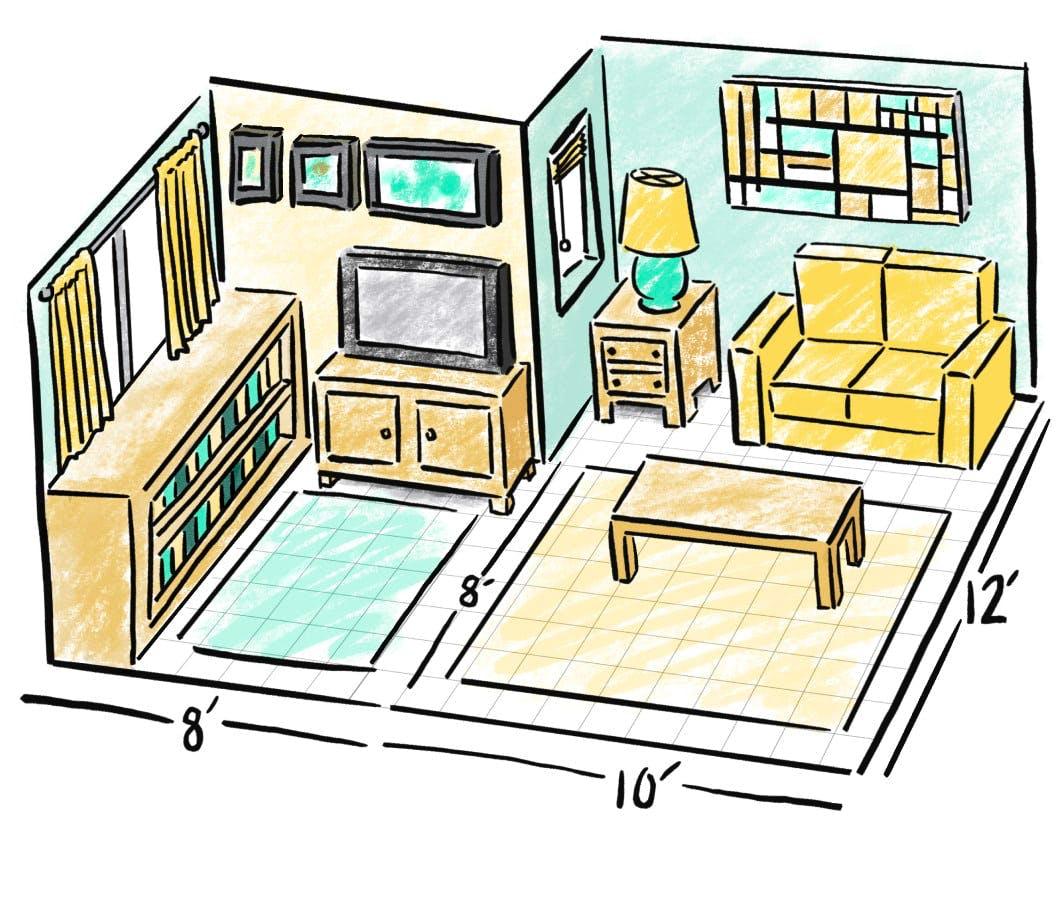 Visualizing square footage